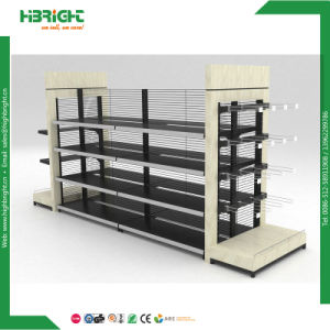Gondola Shelf with Punching Board Store Supermarket Shelf pictures & photos