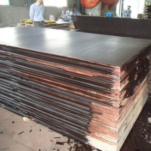 Brown Black Film Faced Plywood for Construction Building Usage pictures & photos