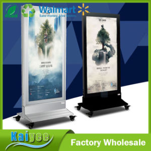 Outdoor Floor Double Side Magnetic LED Light Box pictures & photos