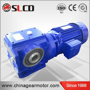 S Series Helical Worm Gear Units Gear Reducer Motor for Lifting Machine pictures & photos