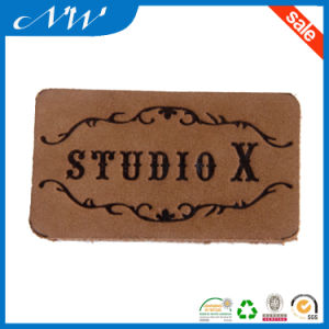 Fashion Brown Real Leather Patches for Jeans