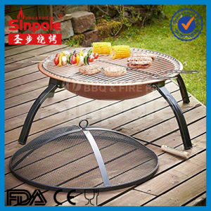 Hot Selling Portable Foldable Outdoor Fire Pit with Cooper Color (SP-FT001) pictures & photos