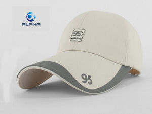 Brush Cotton Twill Long Bill Sport Golf Cap pictures & photos