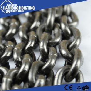15mm Huaxin G80 Steel Chain Black Lashing Chain pictures & photos