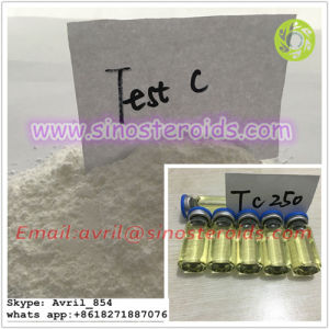 Injectable Steroid Oil Liquid Cypoject 250 Testosterone Cypionate for Gain Muscle pictures & photos