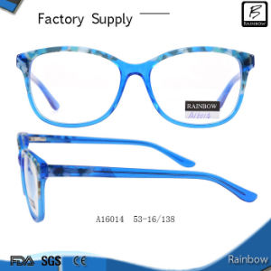 Hot Selling Color Combination Optical Eyeglasses with Ce (A16014)