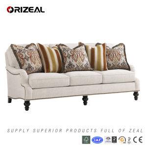 Living Room Amelia Fabric Sofa (OZ-SF-029) pictures & photos