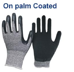 Aramid Fibres Cut Level 4 Cut Resistant Gloves pictures & photos