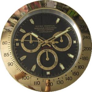 Decorative Items Metal Wall Clocks Luxury Moden Clock Wrist Watch (T6111G-1)