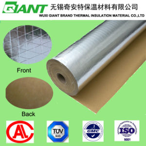 Flame Retardant Aluminium Foil Insulation 3-Way Reinforced Kraft Paper Vapor Barrier pictures & photos