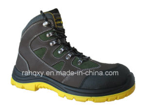 New Style Crazy Horse Leather Safety Shoes (HQ08002) pictures & photos
