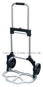 Foldable Aluminum Hand Truck (HT121C) pictures & photos