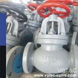 Cast Steel Bolted Bonnet Flanged Marine Globe Valve pictures & photos