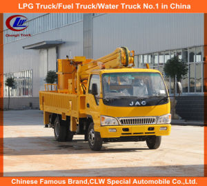 JAC Double Row Truck Mounted Aerial Platform Trucks 18m for Sale pictures & photos
