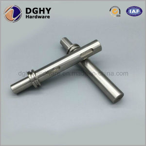 CNC Machined Auto Spares Parts, Precision Finish Stainless Steel Rollers Transmission Output Shaft/Idler Shaft/Driven Shaft