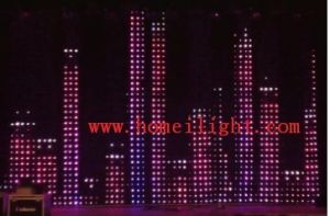 3m *6m Durable LED Video Curtain with Flash Effect Party Wedding pictures & photos