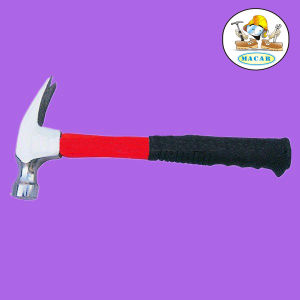 8oz High Quality Claw Hammer/Fitter′s Hammer with Steel Handle pictures & photos