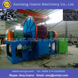 Tire Shredding Machine/Small Recycle Tire Machine/Shredder for Waste Tyre pictures & photos