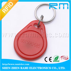 RFID Keychain Ring with Plus S X 2k/4k Chip Customize Logo