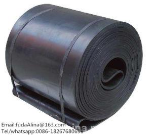 Fuda Rubber Conveyor Belts Ep Black Rubber Conveyor Belts Ep Nn Cc Chevron Sidewall Rubber Conveyor Belts Manufacturer pictures & photos