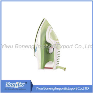 Electric Travelling Steam Iron Sf-8833 Electric Iron with Ceramic Soleplate (Green) pictures & photos