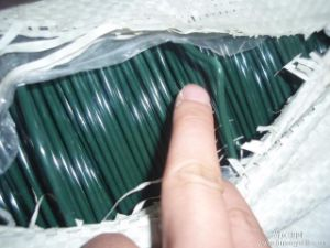 China Supplier of PVC Coated Wire High Quality pictures & photos