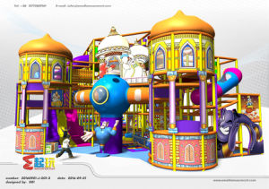 Circus Themed Naughty Castle Play Equipment Indoor Playground pictures & photos