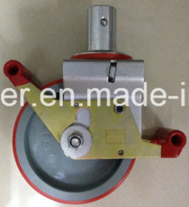 Scaffolding Casters 150mm Size Total Brake PU Caster pictures & photos