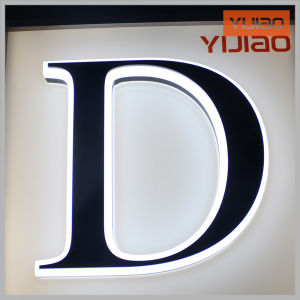 Top Technology Company Logo LED Acrylic Signage pictures & photos
