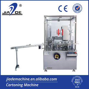 Automatic Carton Box Packing Machine for Food (JDZ-120G)