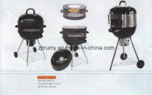 Multifunctional Kettle Trolley Charcoal BBQ Grill pictures & photos