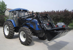 Agricultural Tractors 100HP with 4in1bucket Loader pictures & photos
