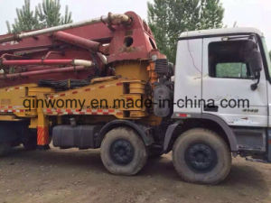 2005~2010 45m Used 8*4-LHD-Drive Isuzu Chassis Sany Concrete Pump Truck pictures & photos