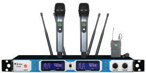 Long Distance Live Performance True Diversity Professional Wireless Microphone H-201