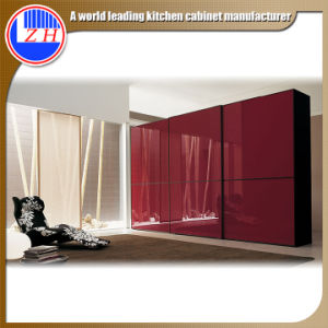 Bedroom Furniture Sliding Wardrobe Designs (zhuv) pictures & photos