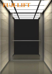 Etched Stainless Steel Mirror Residential Passenger Elevator pictures & photos