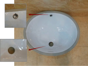 Round Shape 18′′under Counter Basin with Cupc/Ce (A-205C) pictures & photos