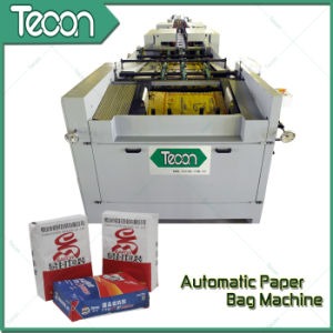 High Speed Paper Bag Making Machine pictures & photos