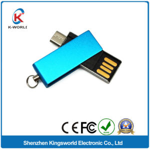 8GB Swivel OTG USB Drive