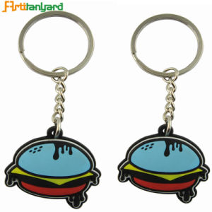 Customer Design PVC Keychain with Logo pictures & photos