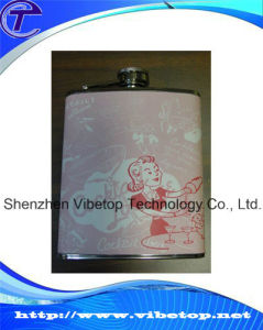Leather Cover Hip Flasks Novelty Leather Flagon pictures & photos