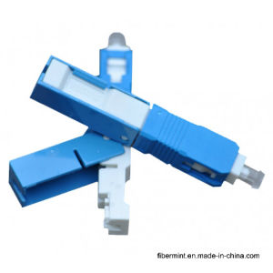 Drop Cable Fiber Optic Field Assembly Connector