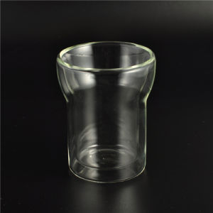New Custom Design Double Wall Glass Cup pictures & photos