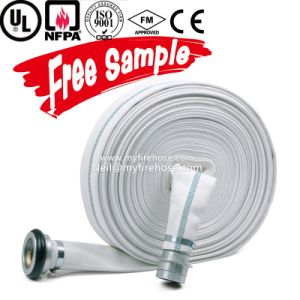 4 Inch EPDM Fire Resistant Hydrant Hose Manufacturer Supplier pictures & photos