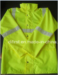 High Visibility Safety Reflective Jacket with Crystal Tape pictures & photos