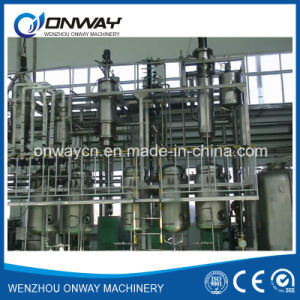 High Efficient Agitated Thin Film Distiller Vacuum Distillation Used Oil Pyrolysis Oil Distillation Plant pictures & photos