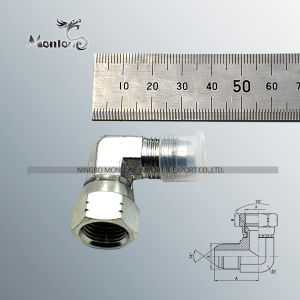 45 Degree Elbow Jic Male 74 Degree Cone Bsp Male O-Ring Adapter (1JG4-OG) pictures & photos