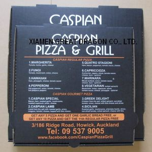Locking Corners Pizza Box for Stability and Durability (PB160597) pictures & photos