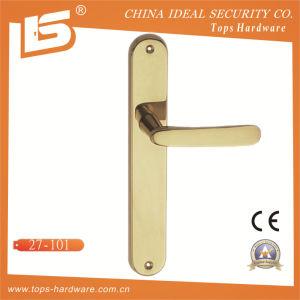 High Quality Brass Door Lock Handle-27101 pictures & photos