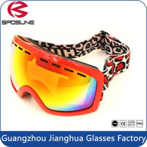 2017 New Men Dual Lens Best Ski Goggles Black Frame Hot Popular Winter Sport Eyewear pictures & photos